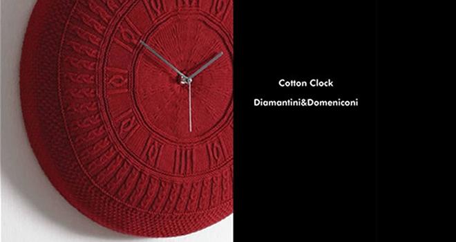 コットンクロック 掛け時計3