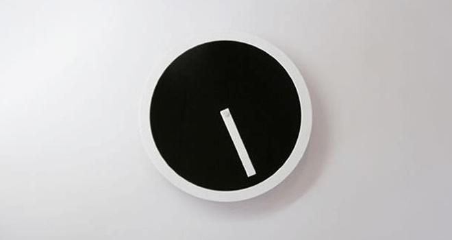 ピクトクロック エアフレームウォールクロック壁掛時計1