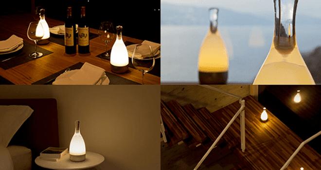 ambientec bottled ボトルド ランプ コードレス ledライト3