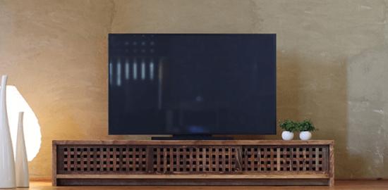 TVボード 古都 琥珀色1