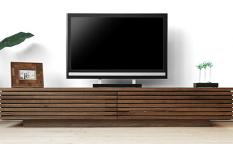 テレビボード ウォールナット 無垢材 GRID1