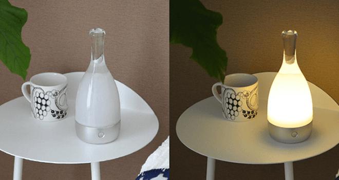 ambientec bottled ボトルド ランプ コードレス ledライト2